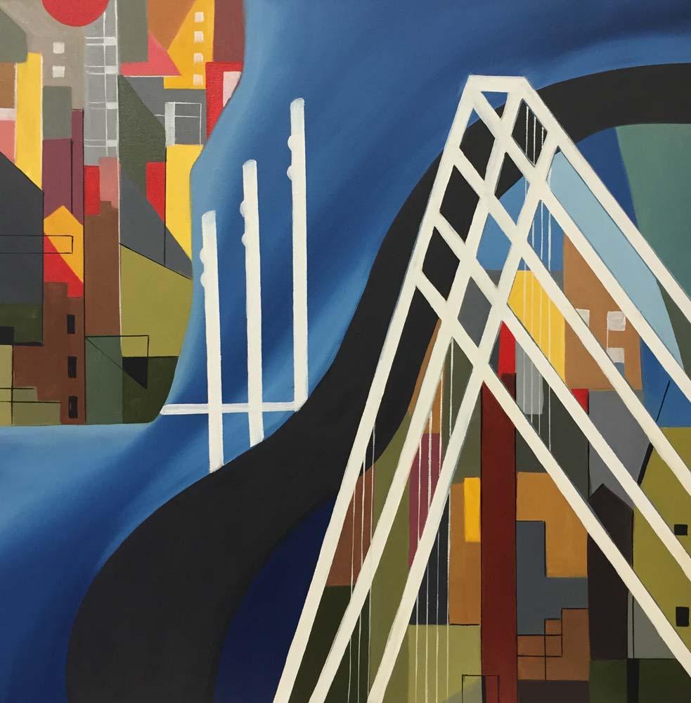 San Francisco, Bay Bridge #2 - 2016
