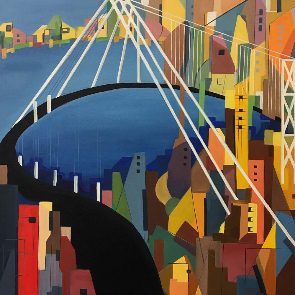 San Francisco, Bay Bridge #4 - 2018