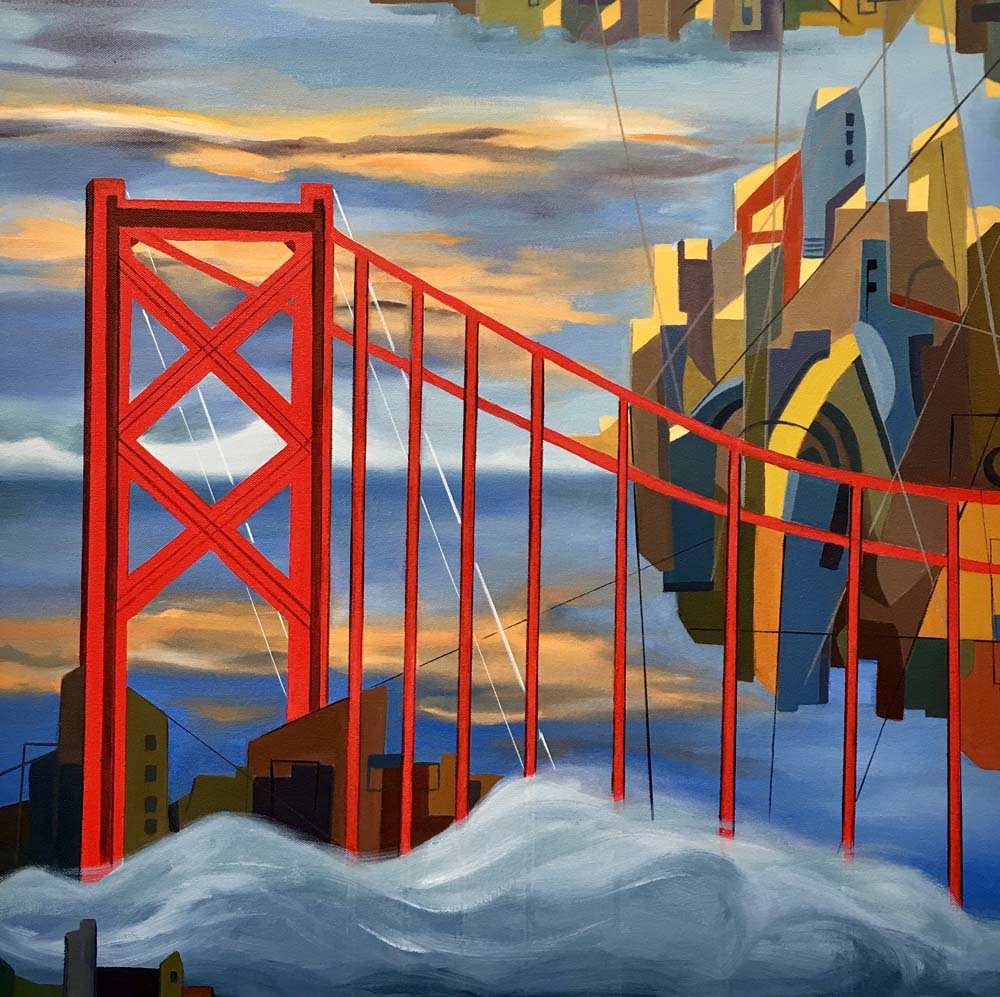 San Francisco, Fog City - 2019
